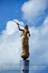 Trumpet Angel Statue