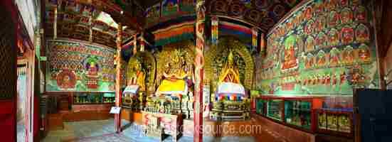 Erdene Zuu Temple Murals