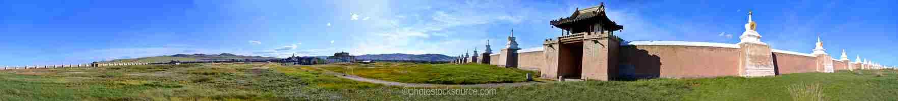 Erdene Zuu West Gate and Walls