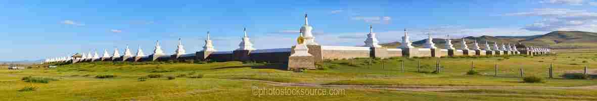 Erdene Zuu Walls and Stupas