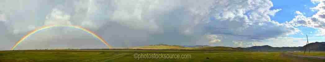 Rainbow over Kharkhorin