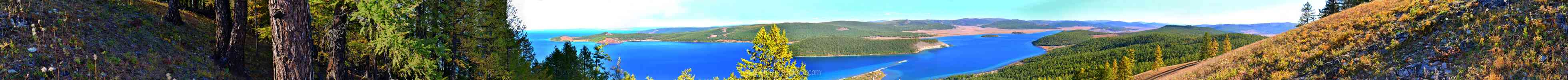 Lake Khosvsgol and Forest