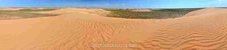 Khongoryn Els Dunes View