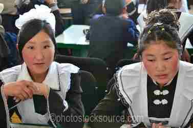 Young Women in Uniforms