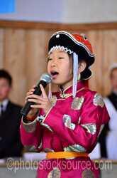 Singing at Assembly