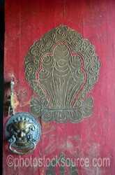 Zuu of Buddha Temple Door