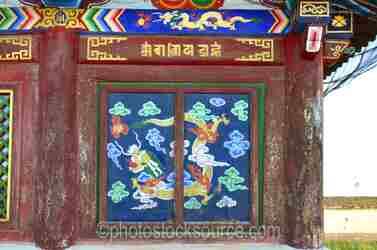 Baruun Zuu Temple Design