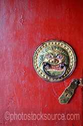 Lavrin Sum Temple Door