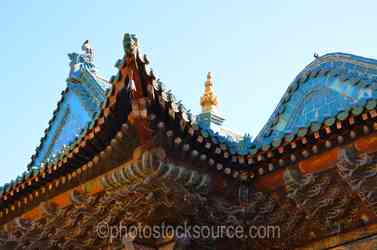 Gandan Monastery Rooflines