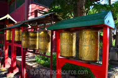 Gandan Monastery Prayer Wheels