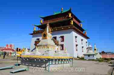 Gandan Monastery Stupa