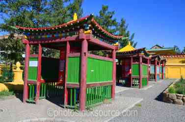 Prayer Wheel Enclosures