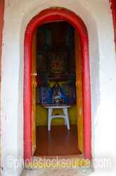 Bumanbazarsad Temple Door