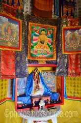 Bumanbazarsad Temple Interior
