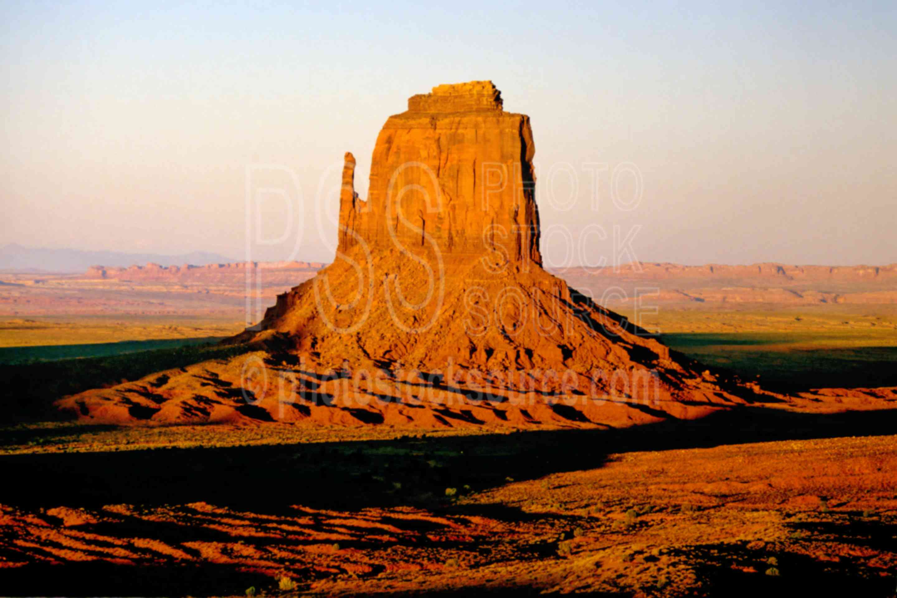 East Mitten at Sunset,east mitten,mesa,sunset,usas,national park,nature,national parks,native american