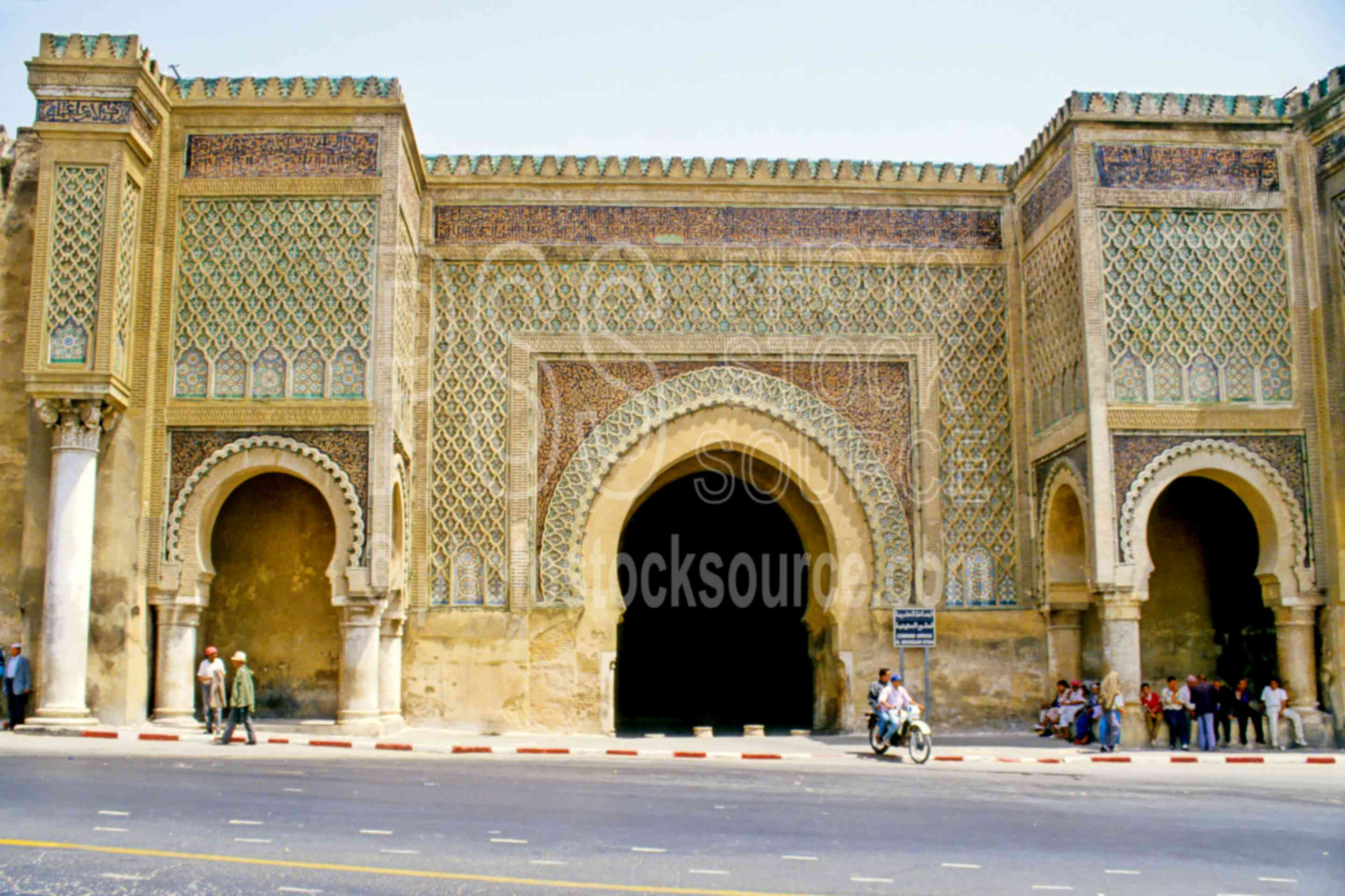 Bab Mansour Gate,arch,gate,wall,morocco mosques