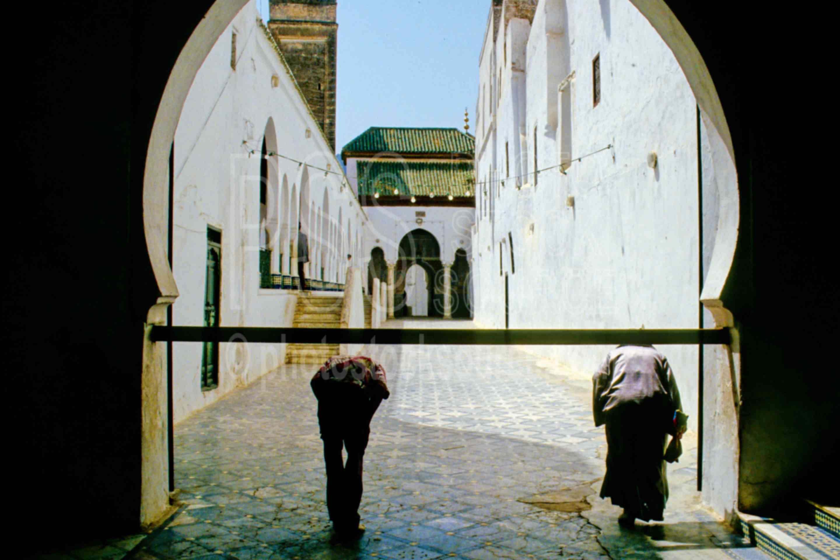 Karaouine Mosque Gate,entrance,gate,people,steps,morocco mosques