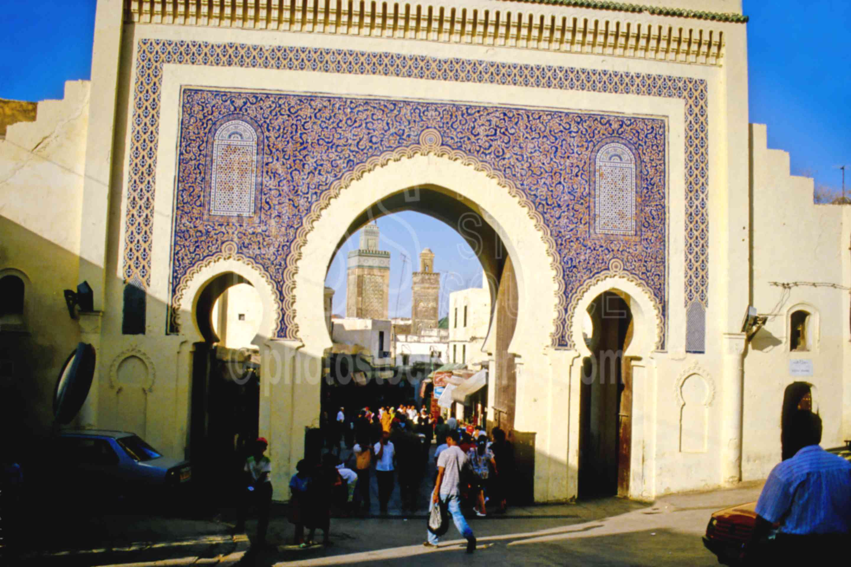 City Gate,fezs,gate,market,medina,street,fezs