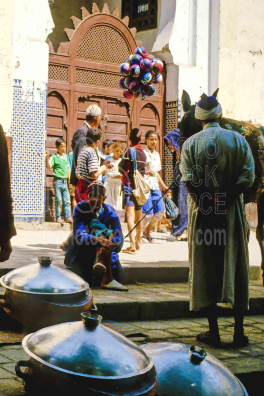 In the Medina,alley,donkey,fezs,market,fezs,morocco markets