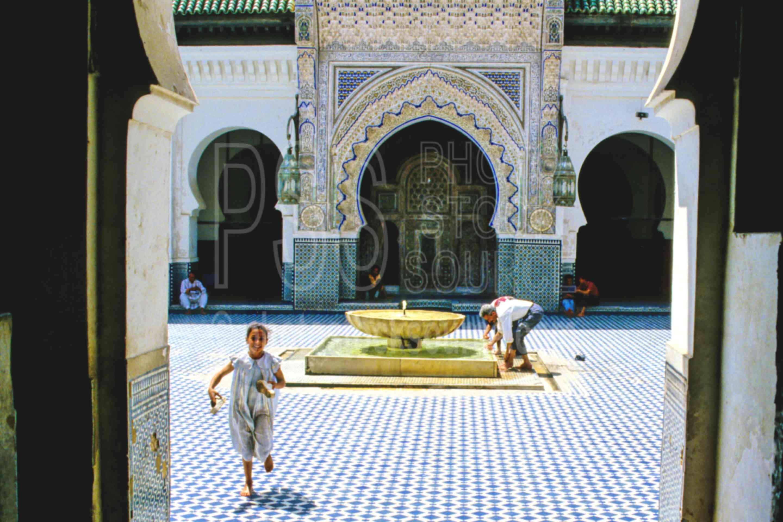 Kairaouine Mosque,fezs,gate,mosque,morocco mosques