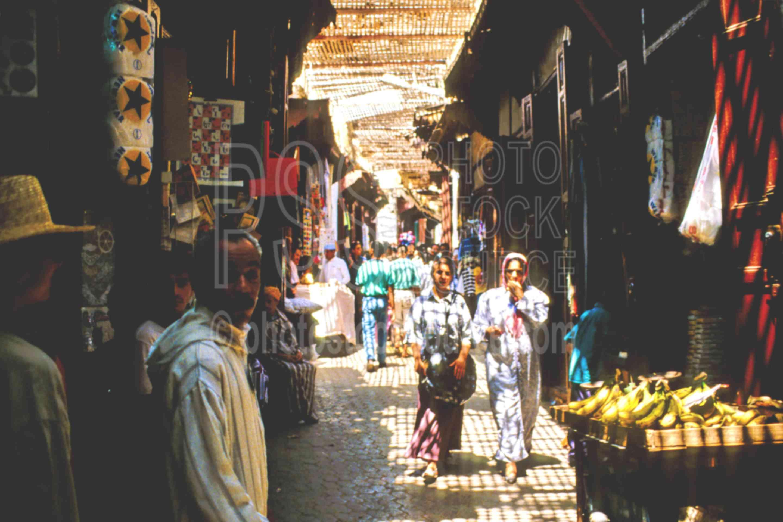 In the Medina,fezs,fruit,market,vendor,morocco markets