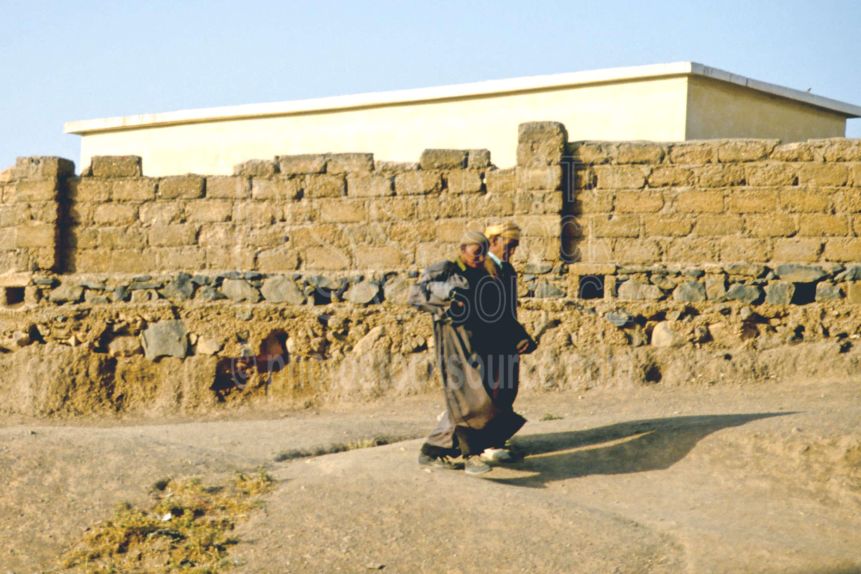 Old Men,mens,walking,wall
