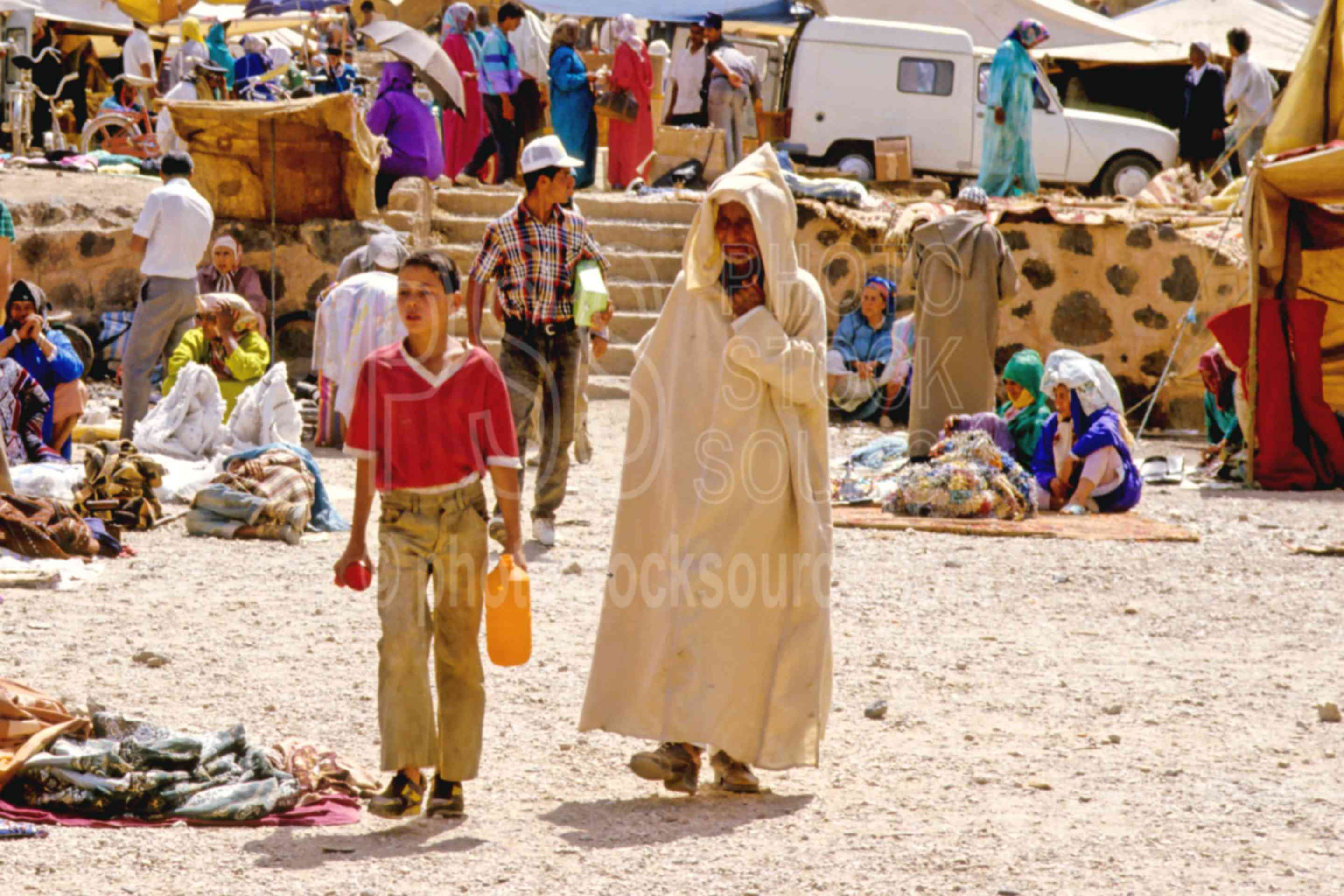 Boy and Father,boys,mans,morocco markets,children