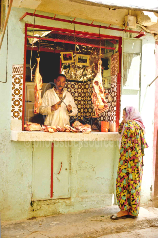 Meat Seller,alley,meat,seller,street,morocco markets