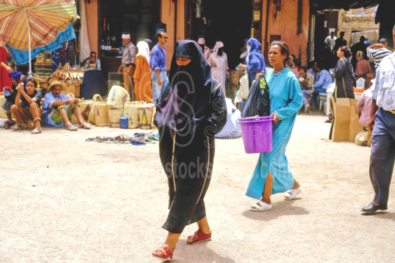 In the Medina,market,medina,walking,woman,morocco markets