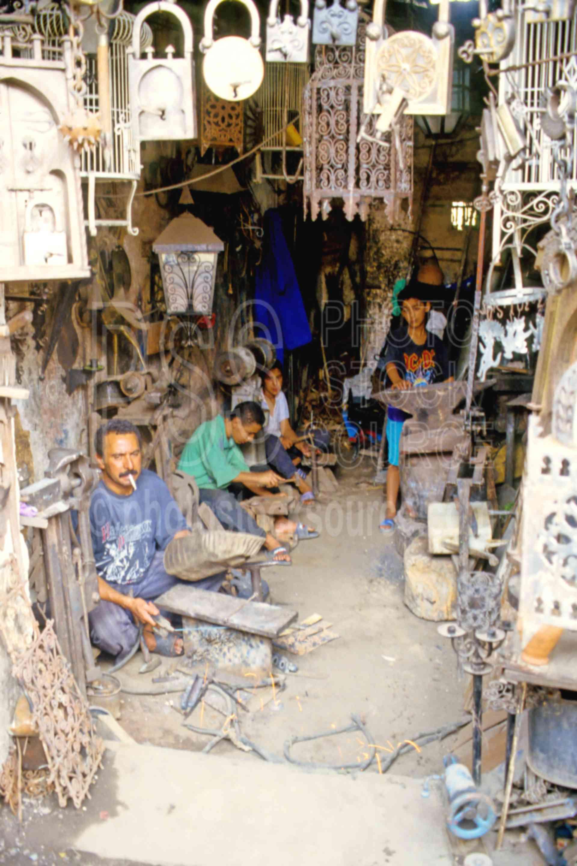 Metal Workers,mans,metal,work,worker,morocco markets,cargo