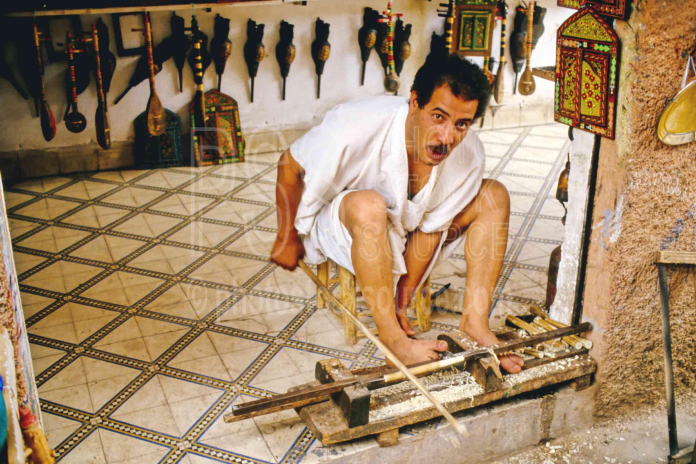 Foot Lathe,artist,carve,lathe,mans,work,worker,morocco markets