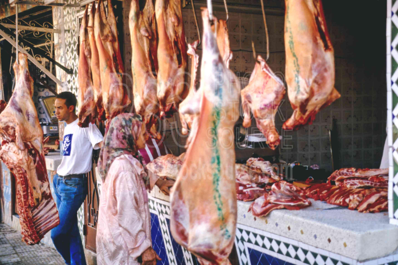 Meat Seller,market,meat,seller,vendor,morocco markets,butcher