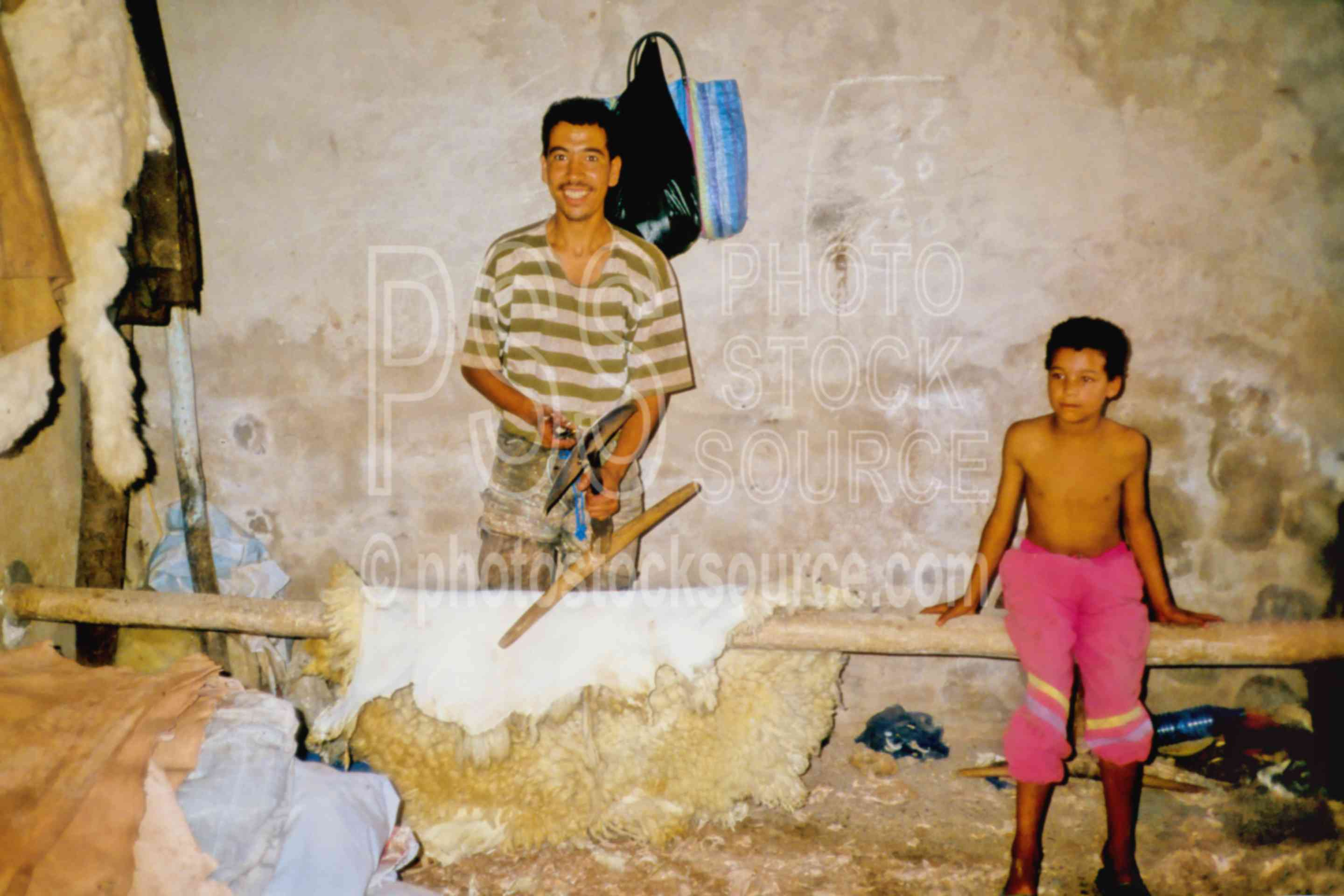 Tannery Workers,boys,father,mans,skin,sons,tannery,work,worker,cargo