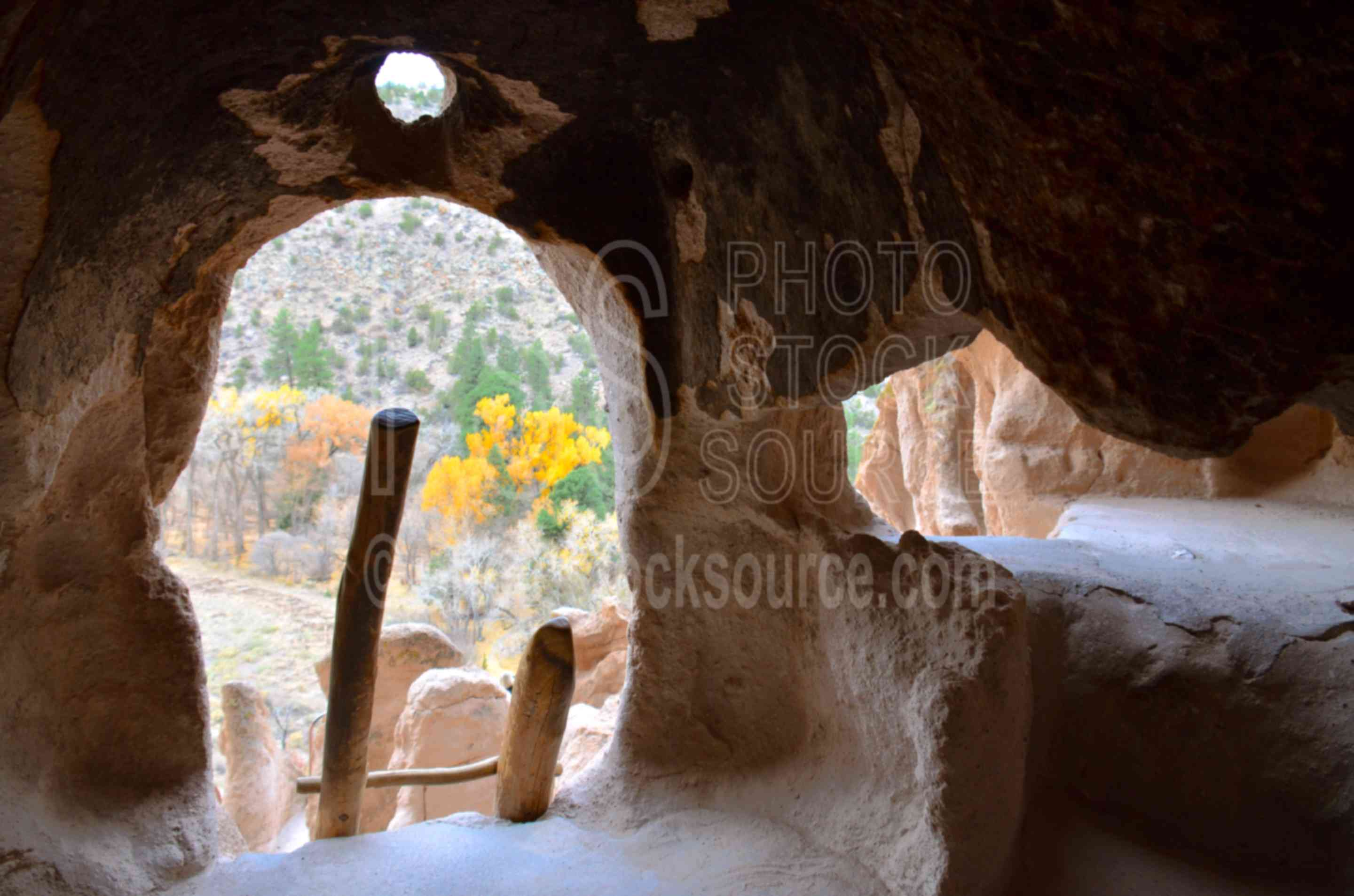 Long House Ladder and Caves,ladder,cave,niche,native american,american indian,ruin,house,archeology,stone,building,dwelling,cliff,bandelier,national monument