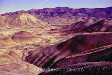 Painted Hills by Moonlight