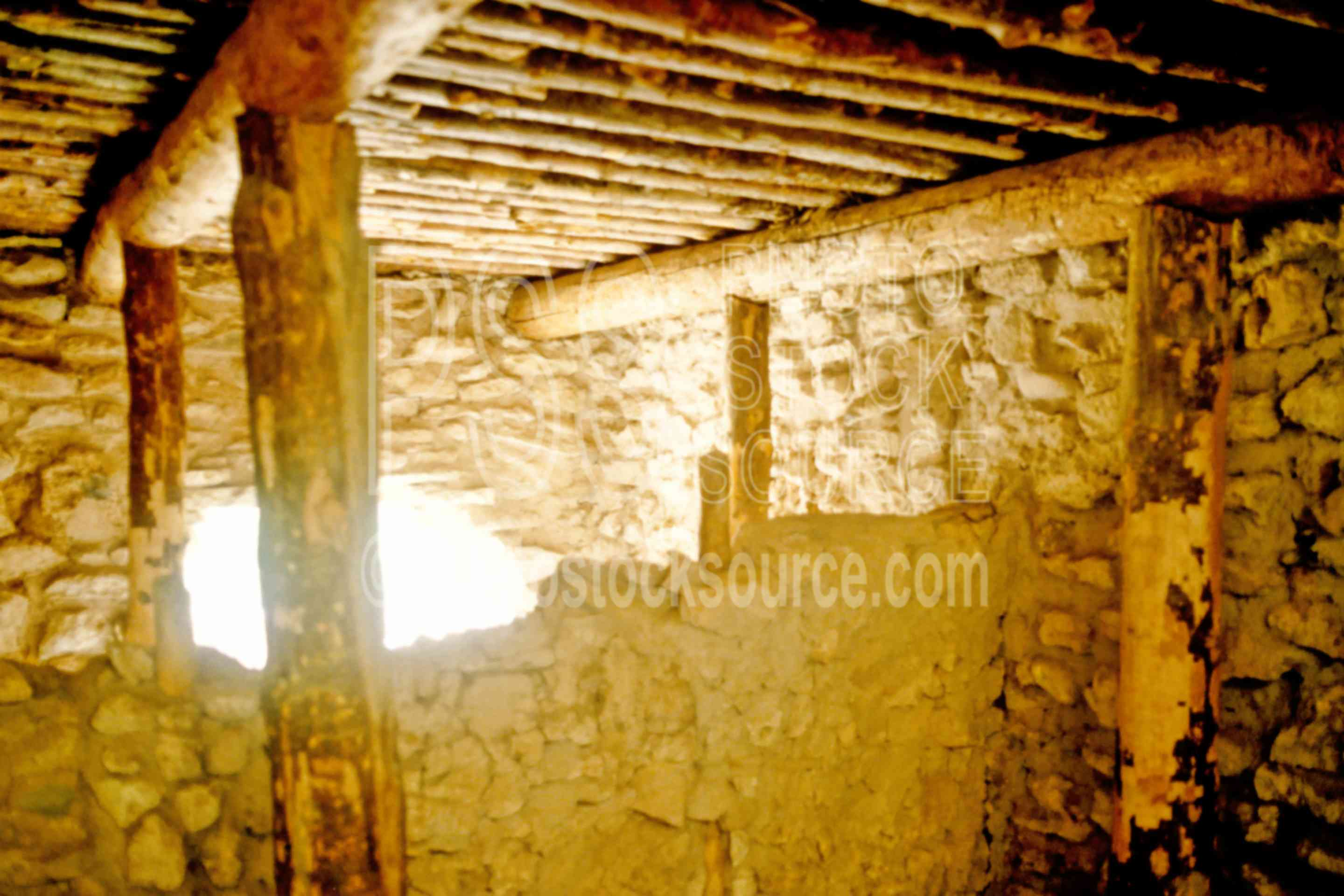 Inside of Room,sinagua indians,surface dwelling,verde valley,usas,native american