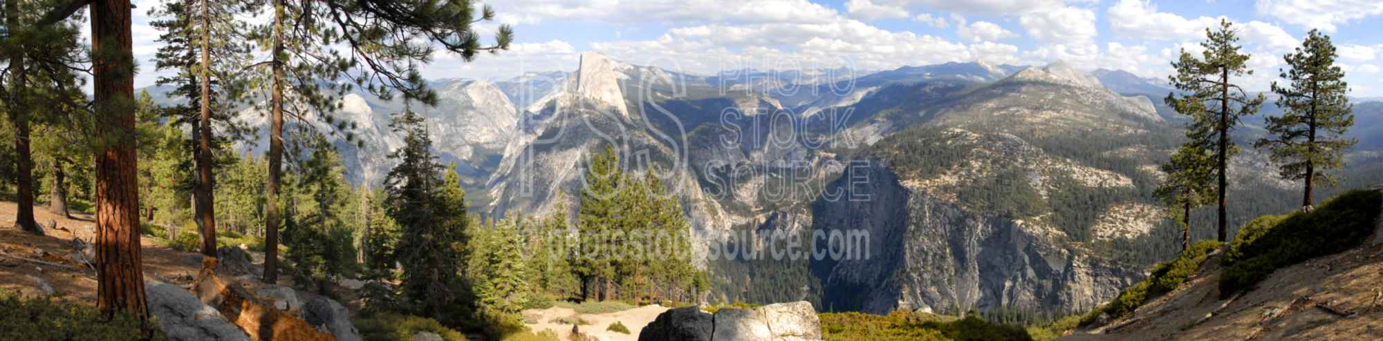 Yosemite Valley Half Dome,mountain,cliff,half dome,washburn point,panorama,mountains panoramas