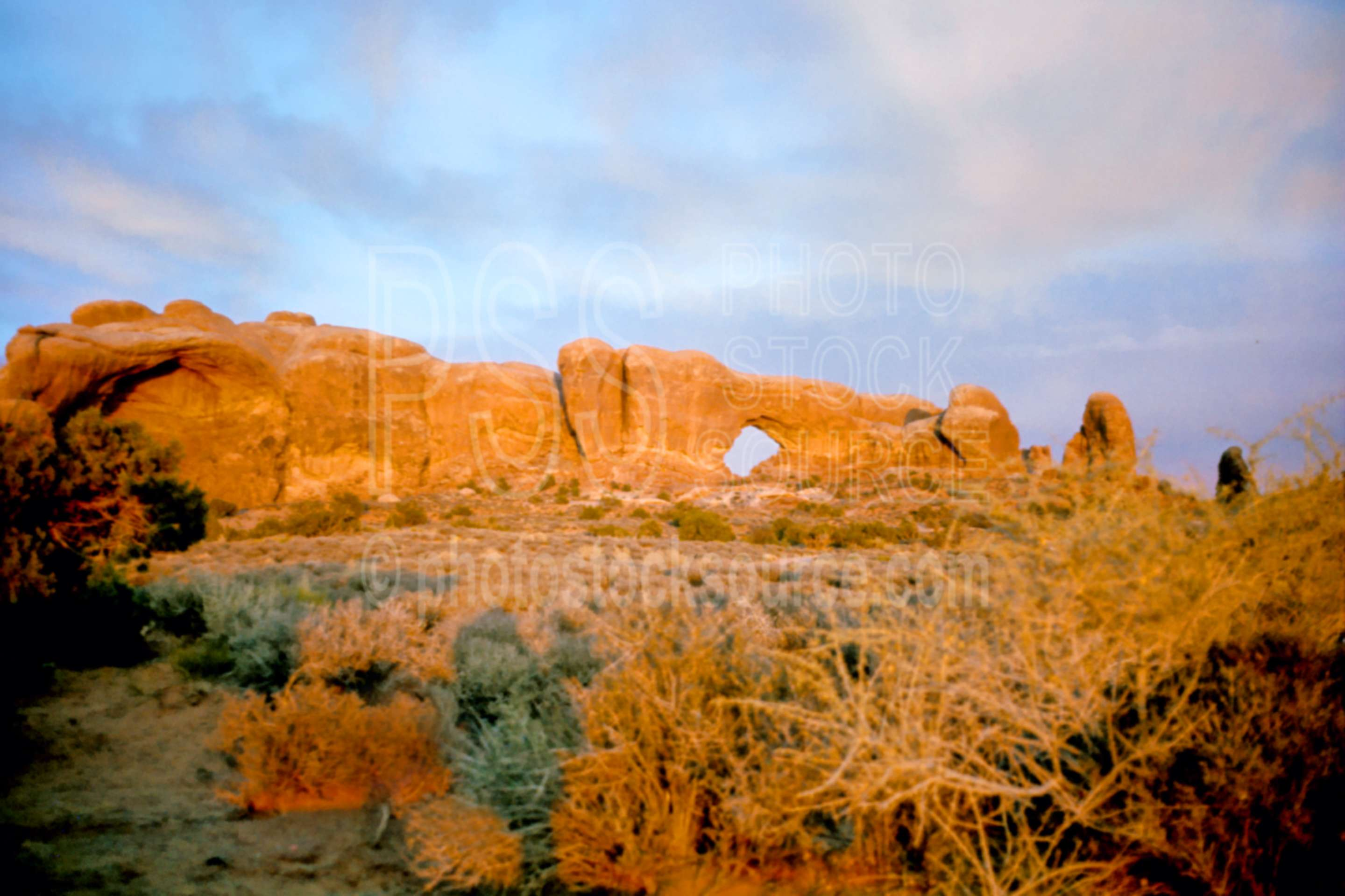 South Window Arch,arch,south window,sunset,usas,national park,nature,national parks