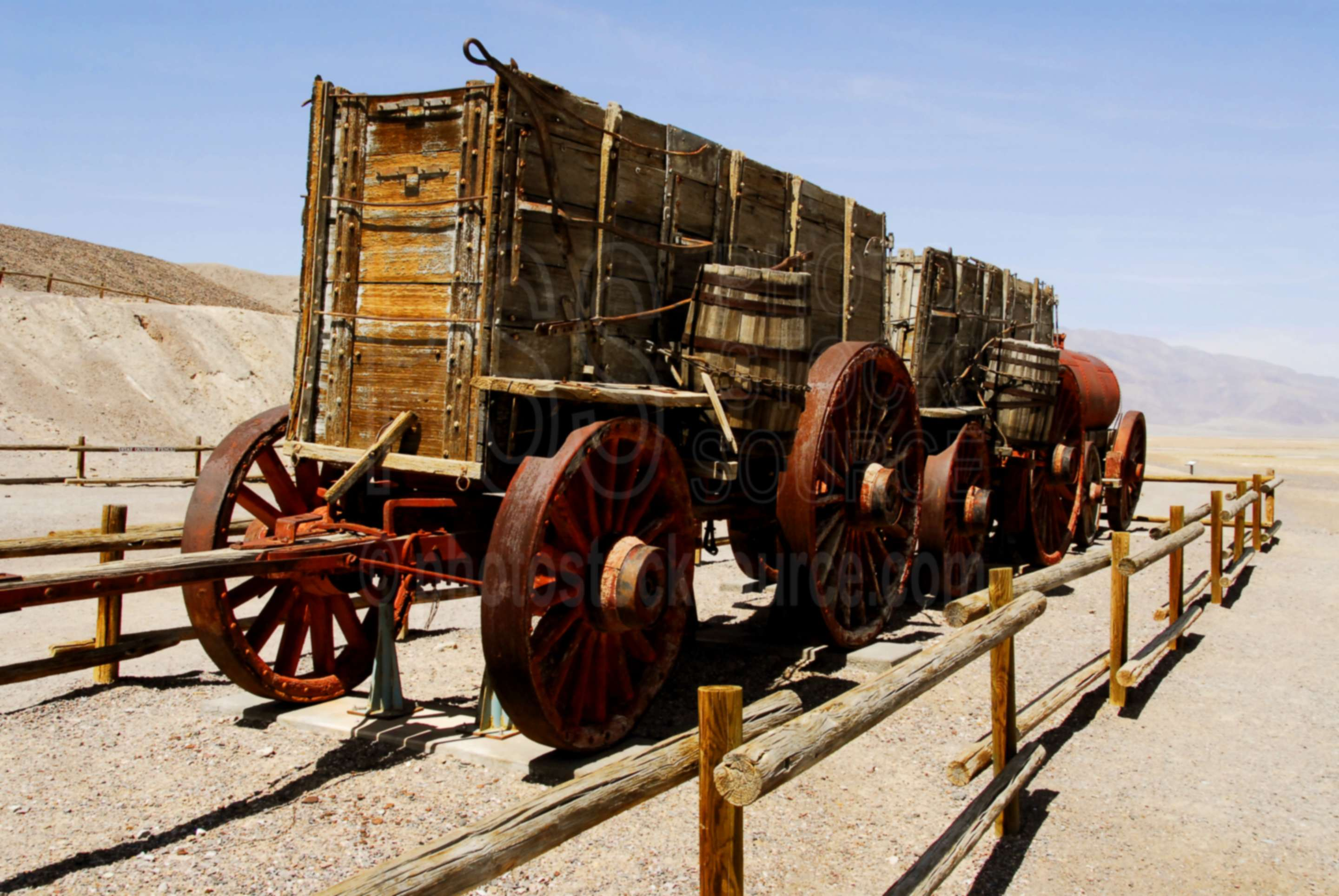 Harmony Borax Works Wagons,death valley,landform,valley,dry,borax,sodium borate,sodium tetraborate,disodium tetraborate,wagon,mineral,mine,mining,historic,historical