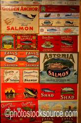 Fish Cannery Labels
