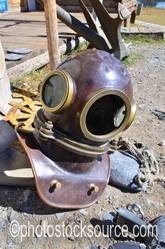 Deep Sea Diving Suit Helmet