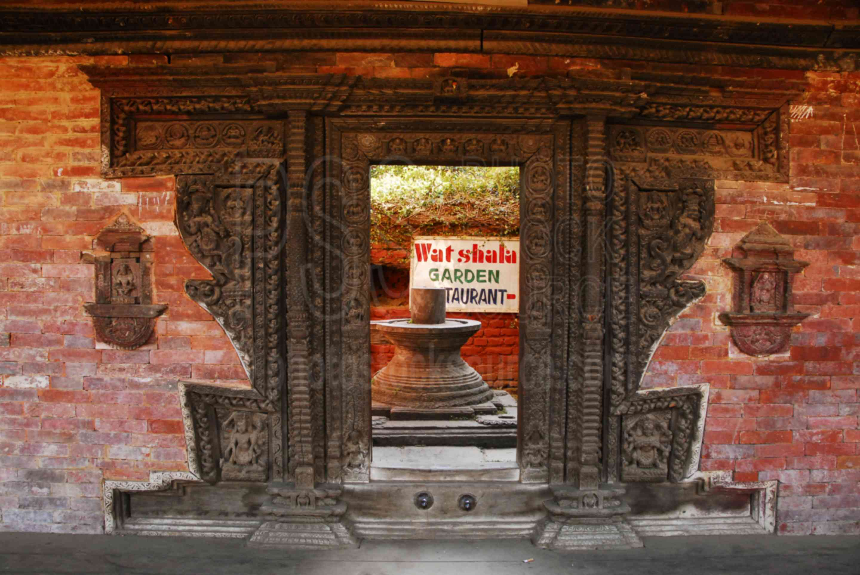 Tadhunchen Bahal Entrance,temple,door,carved,ornate,durbar square,temples
