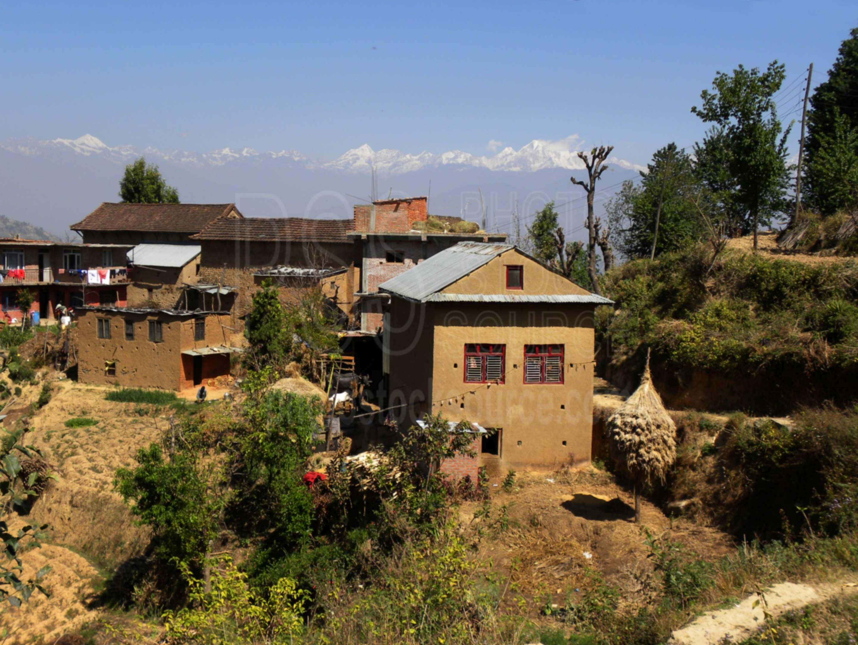 Village Houses,agriculture,highlands,farming,shisha pangma,dorje lhakpa,phurbi chyachu