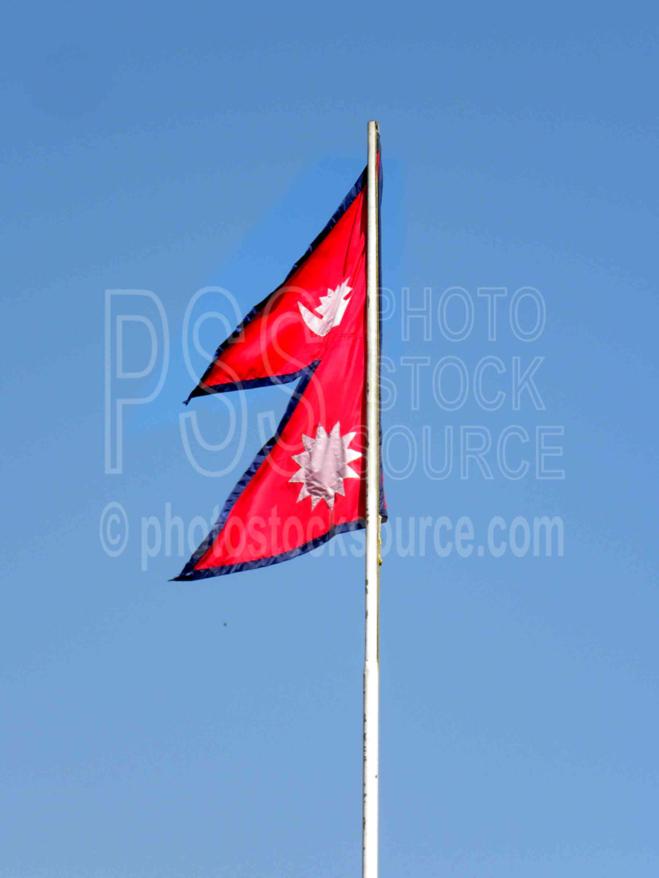 Photo of Nepalese Flag by Photo Stock Source flag