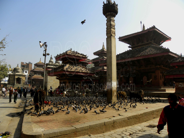 Pratapa Malla Column,temple,religious,column,pratap dhvaja,temples