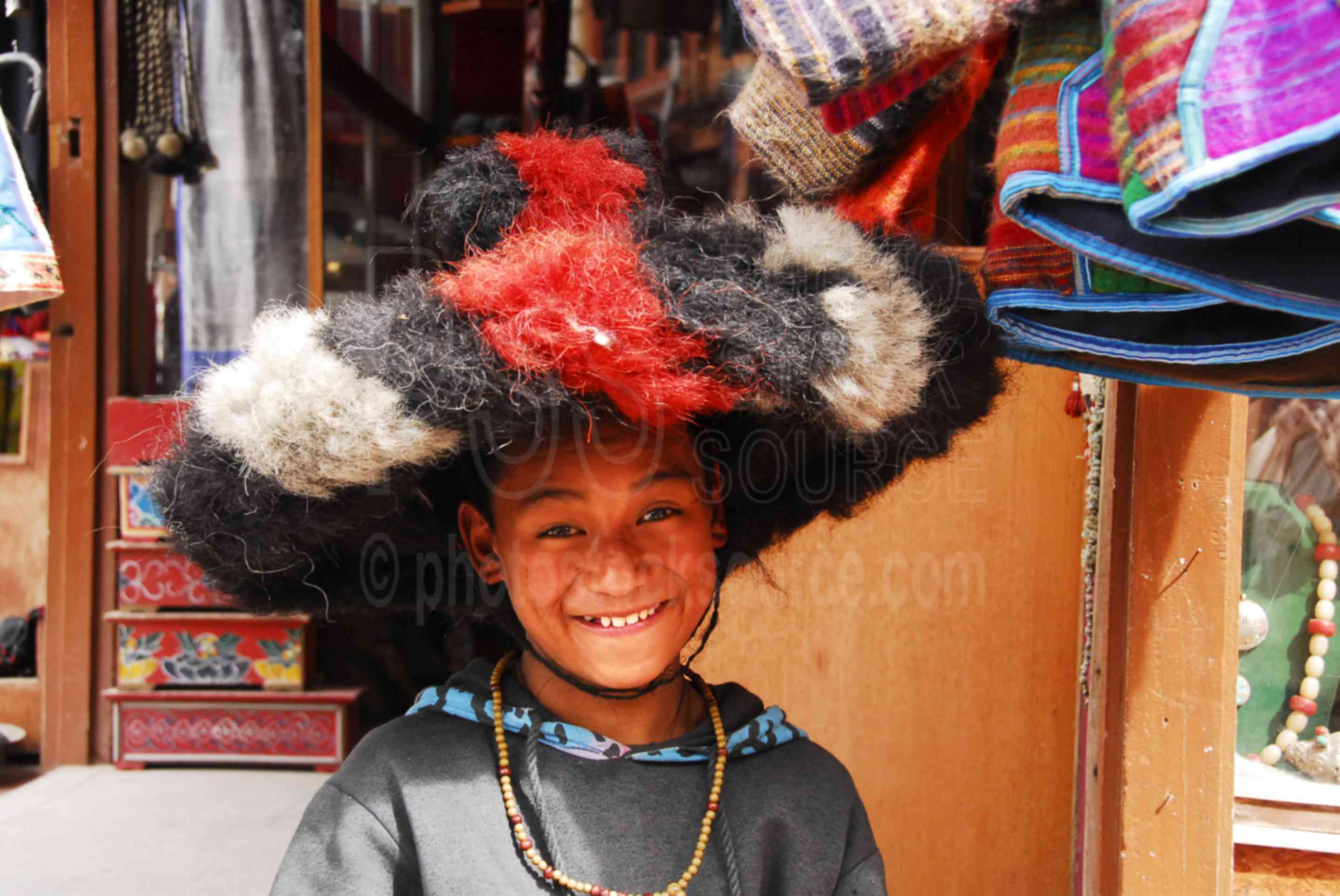 Tibetan Boy in Yak Hat,bouddhanath,bodhnath,baudhanath,stupa,religious,temple,people,boy,child,temples