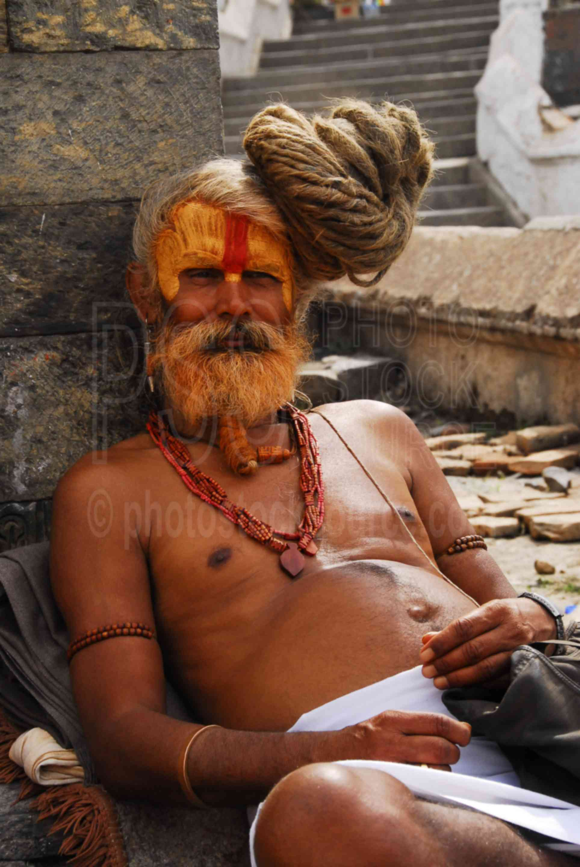 Photo Of Ascetic Yogi Sadhu Baba By Photo Stock Source
