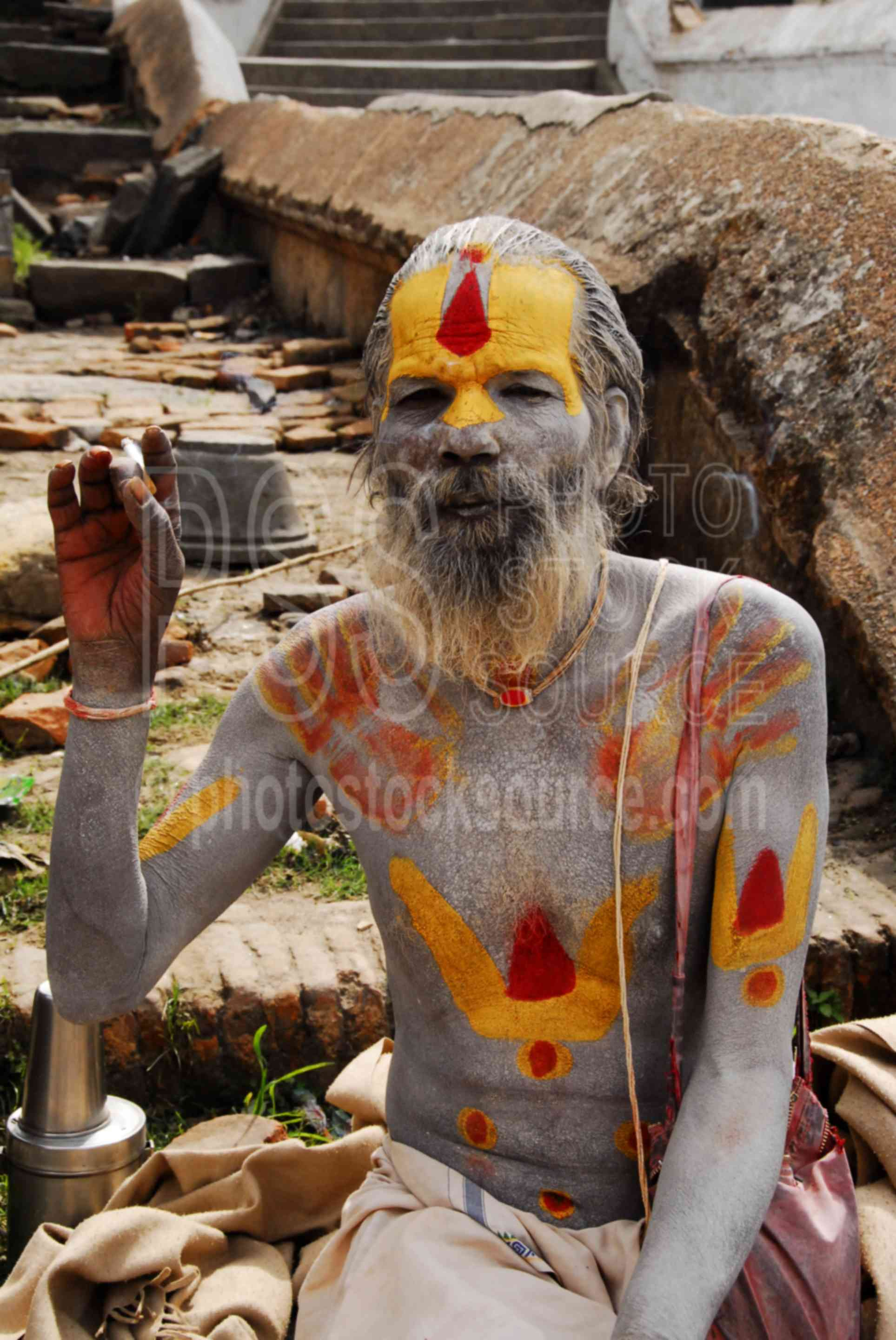 Arresting Sadhus Portrait Photography Religious Photography: All Sadhu Baba Photo