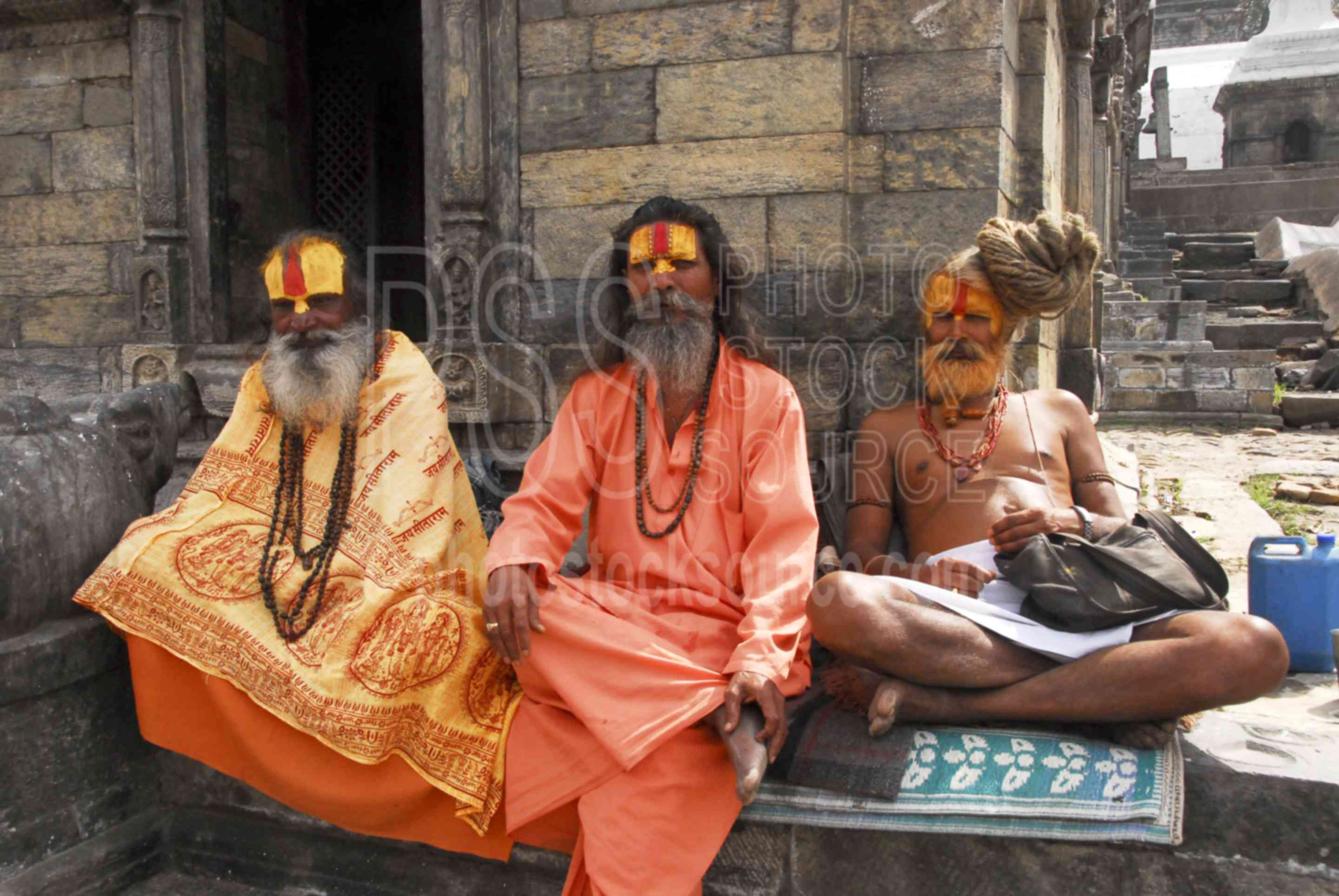 Photo Of Ascetic Yogi Sadhus By Photo Stock Source People