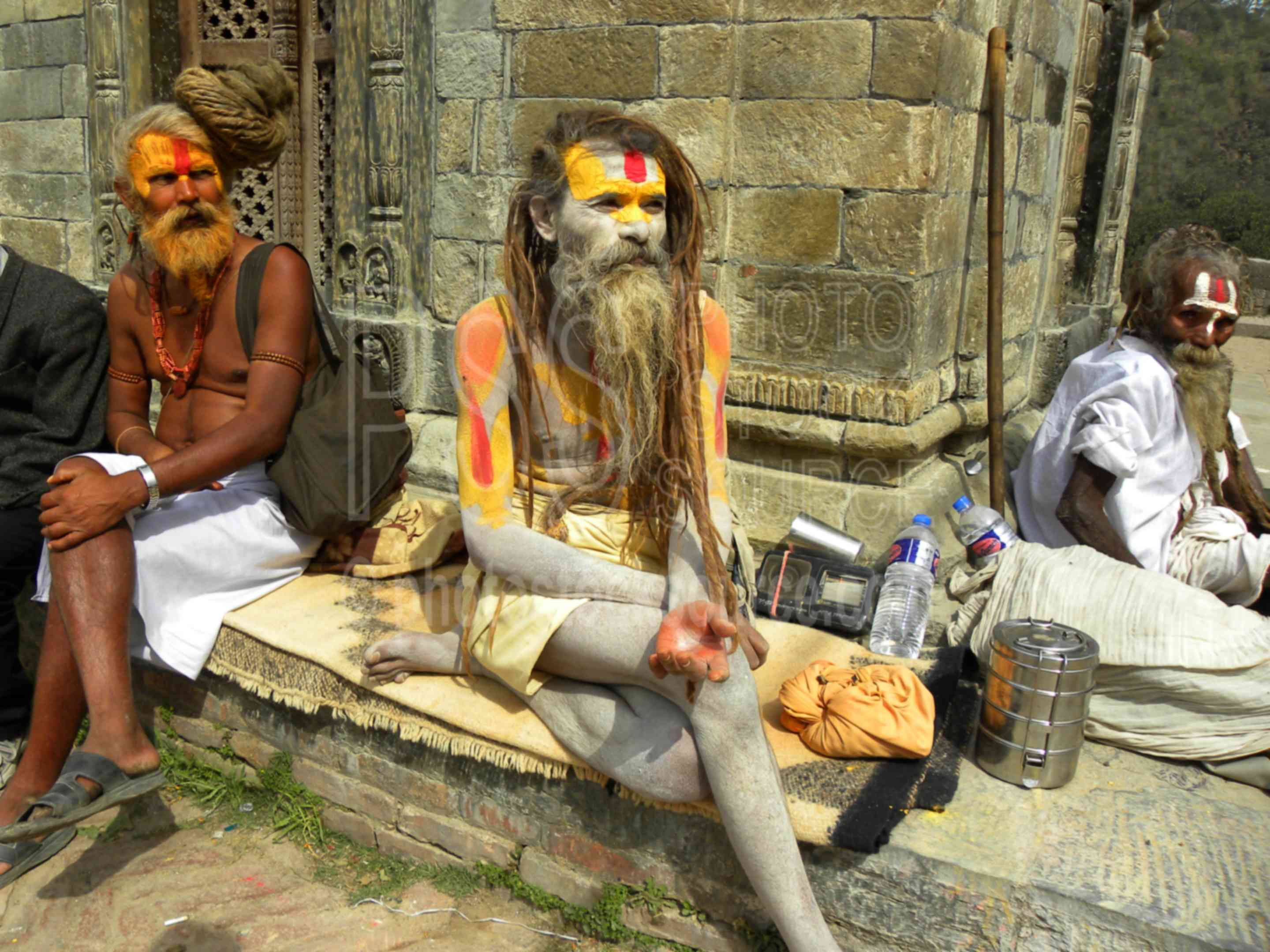 Photo Of Ascetic Yogi Sadhus By Photo Stock Source